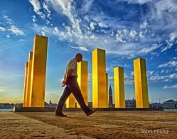 Sky Over Nine Columns 1