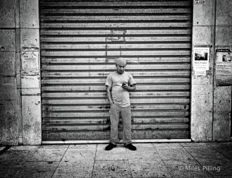 Text break 2, Venice, Italy