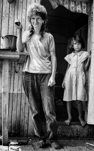 Mother and daughter, Brasov, Romania, 1992