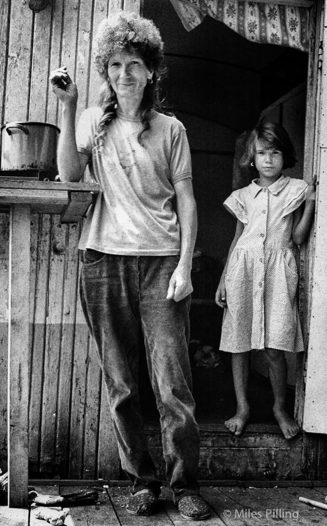 Romanian National Circus - mother and daughter