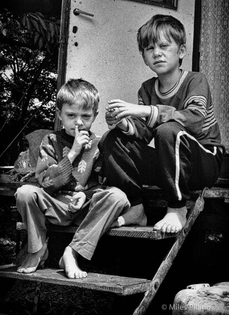 Circus children