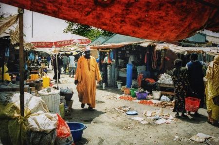 Gambian market, 2000