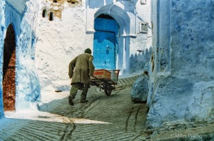 Chefchaouen, Morocco, 1997