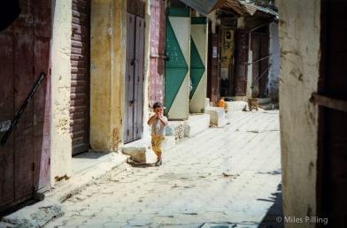 Boy in Fez, Morocco, 1997