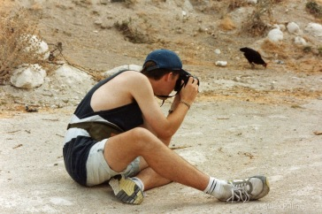 Miles honing his mindful photography, Turkey, 1992!