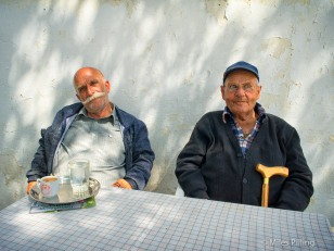 Greek Cypriots near the border with North Cyprus
