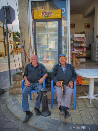 Greek Cypriots, near the Green Line, South Cyprus