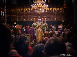 Greek Orthodox Easter service