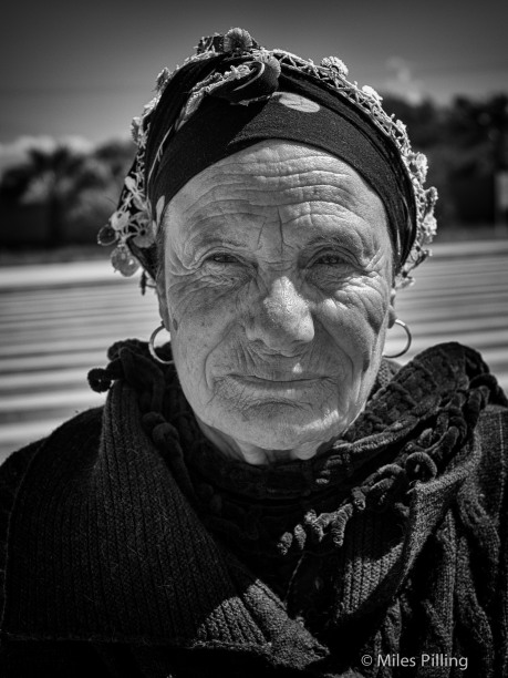 Turkish Cypriot lady
