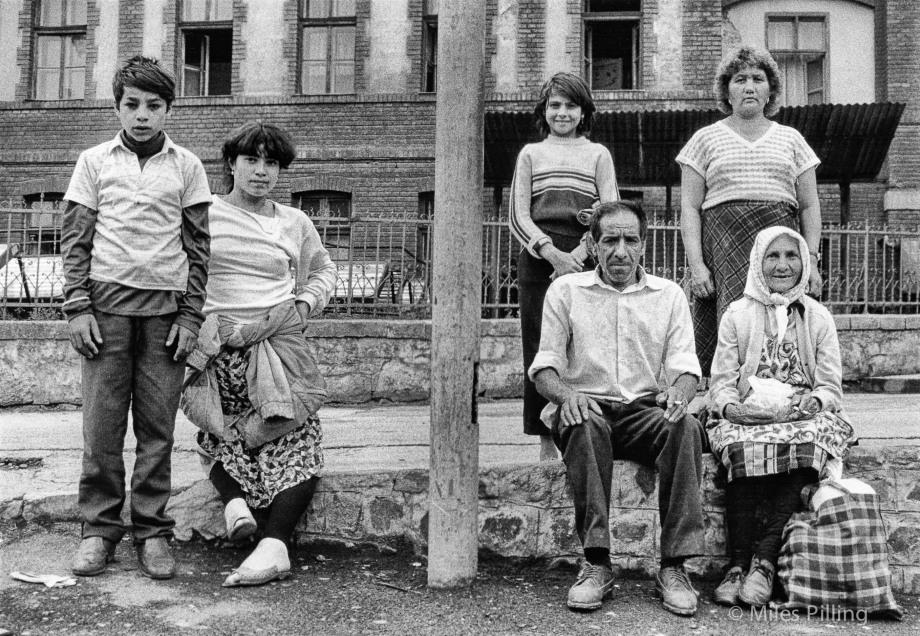 Romanian family, 1992