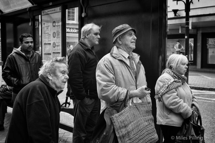 Waiting for transport, Birmingham 2011