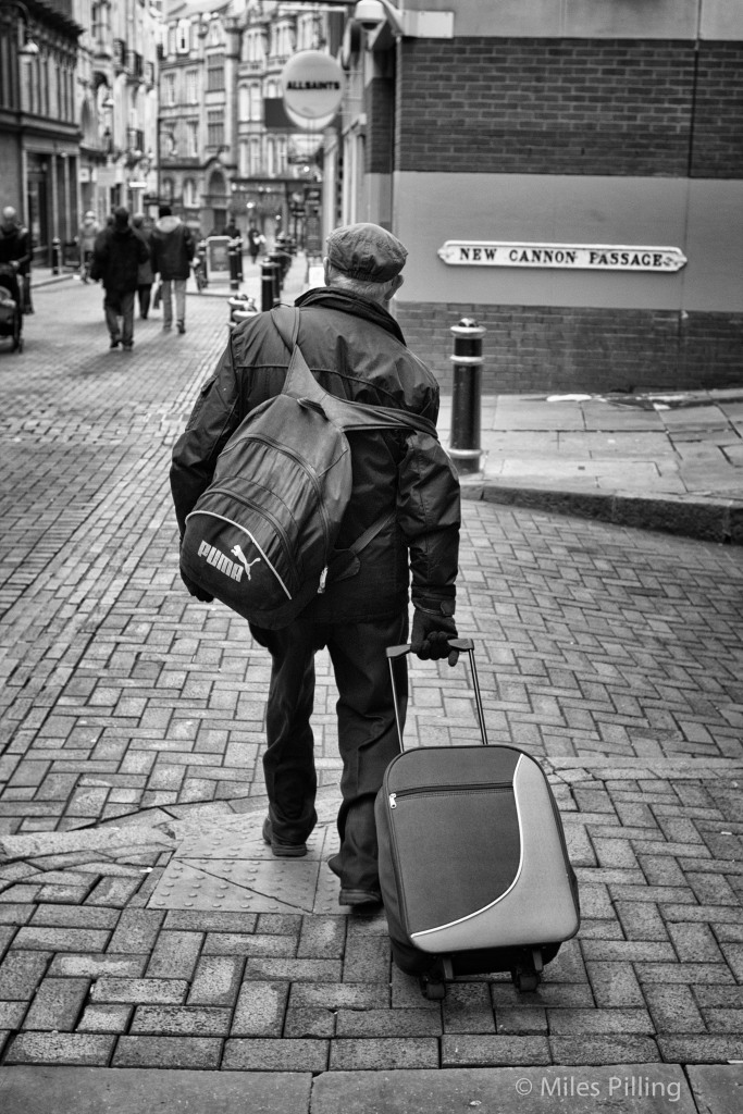 Laden down, Birmingham 2011