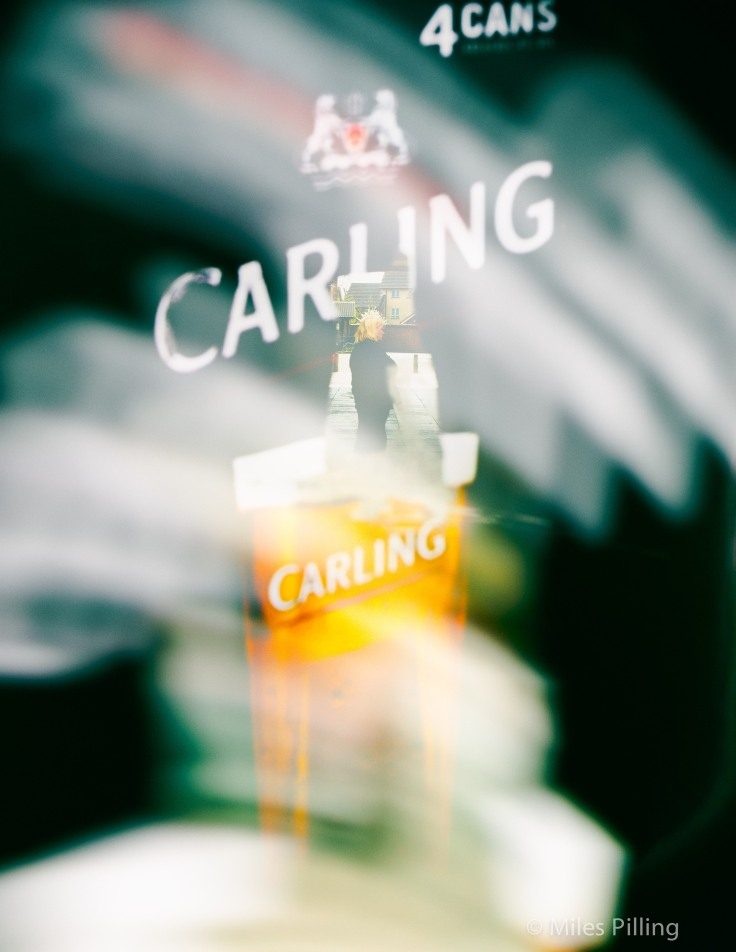 smearing a Carling