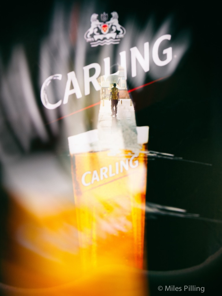 The colours of Carling